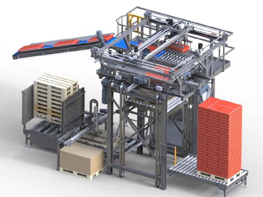 Conveyor lines and manipulators